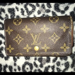 Louis Vuitton porte monnaie billets tresor wallet
